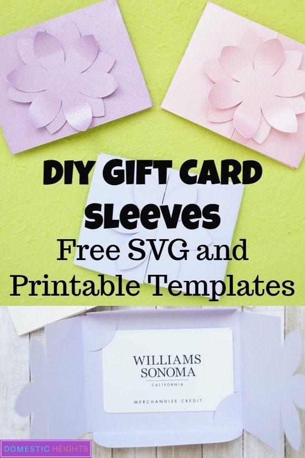 Photo of DIY Gift Card Holder Template – DOMESTIC HEIGHTS