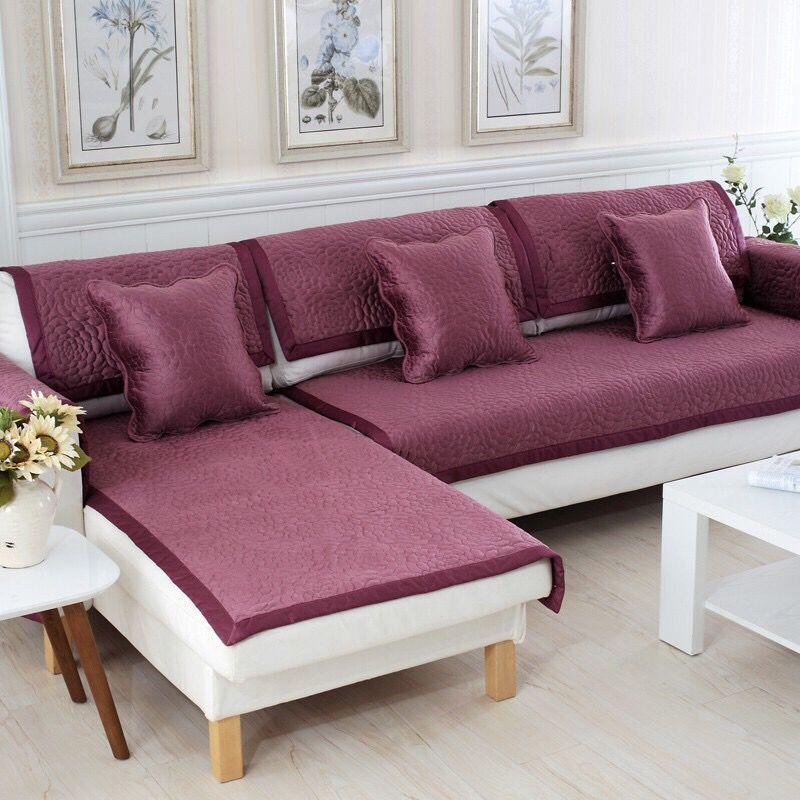 1pc Sofa Cover For Armrest Backrest Sofa Towel Sofas Covers Velvet