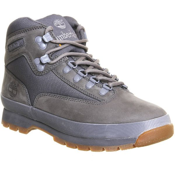 Timberland Euro Hiker Boots ($155) ❤ liked on Polyvore