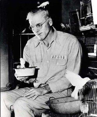 Robert Stroud The Birdman Of Alcatraz Alcatraz Island Prison Alcatraz Prison Alcatraz