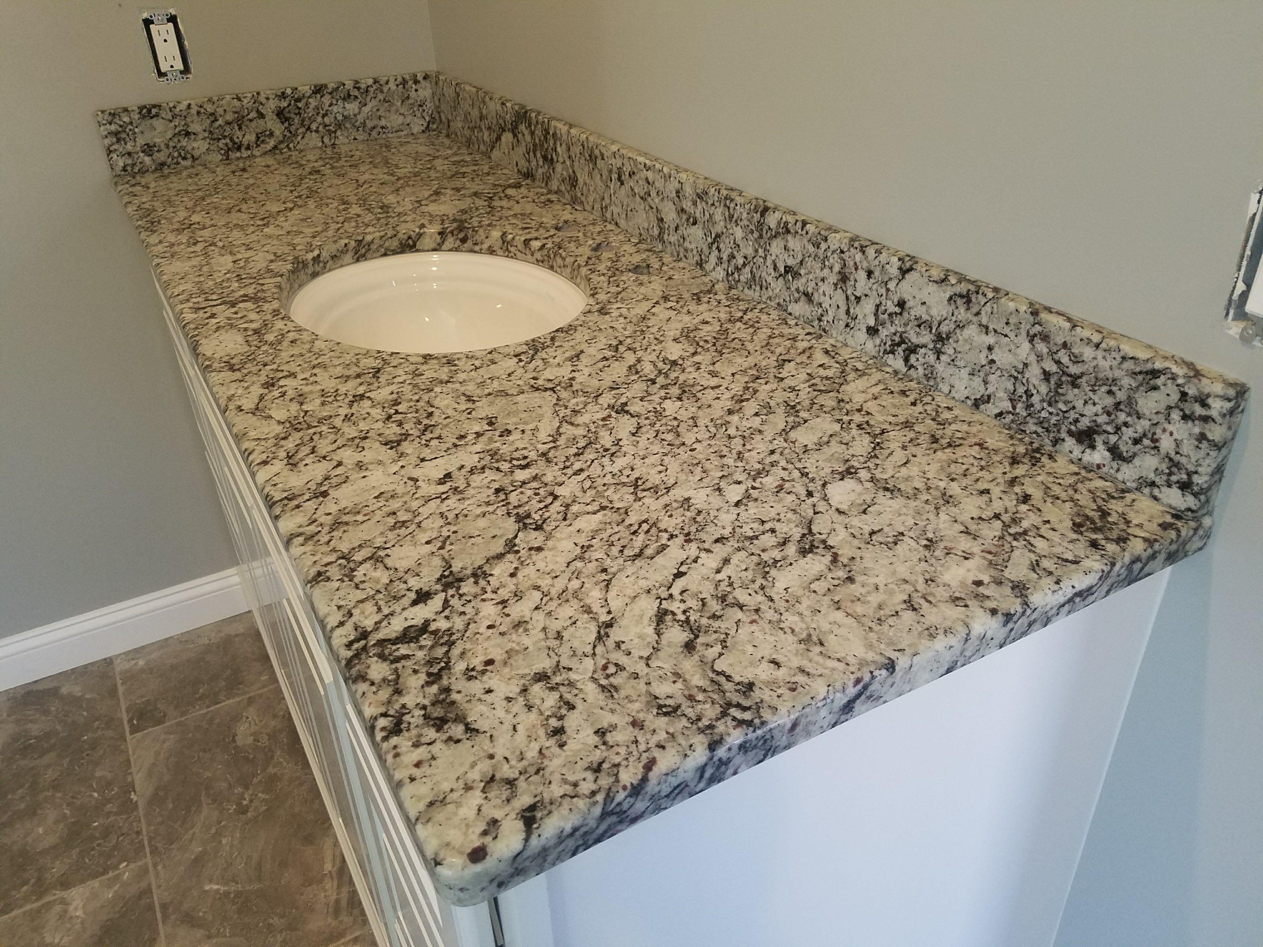 New Venetian White Granite Vanity Granite Vanity White