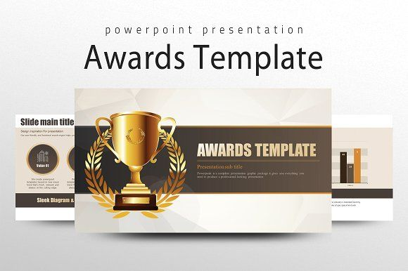 Awards Template by Good Pello on @creativemarket Business - po template