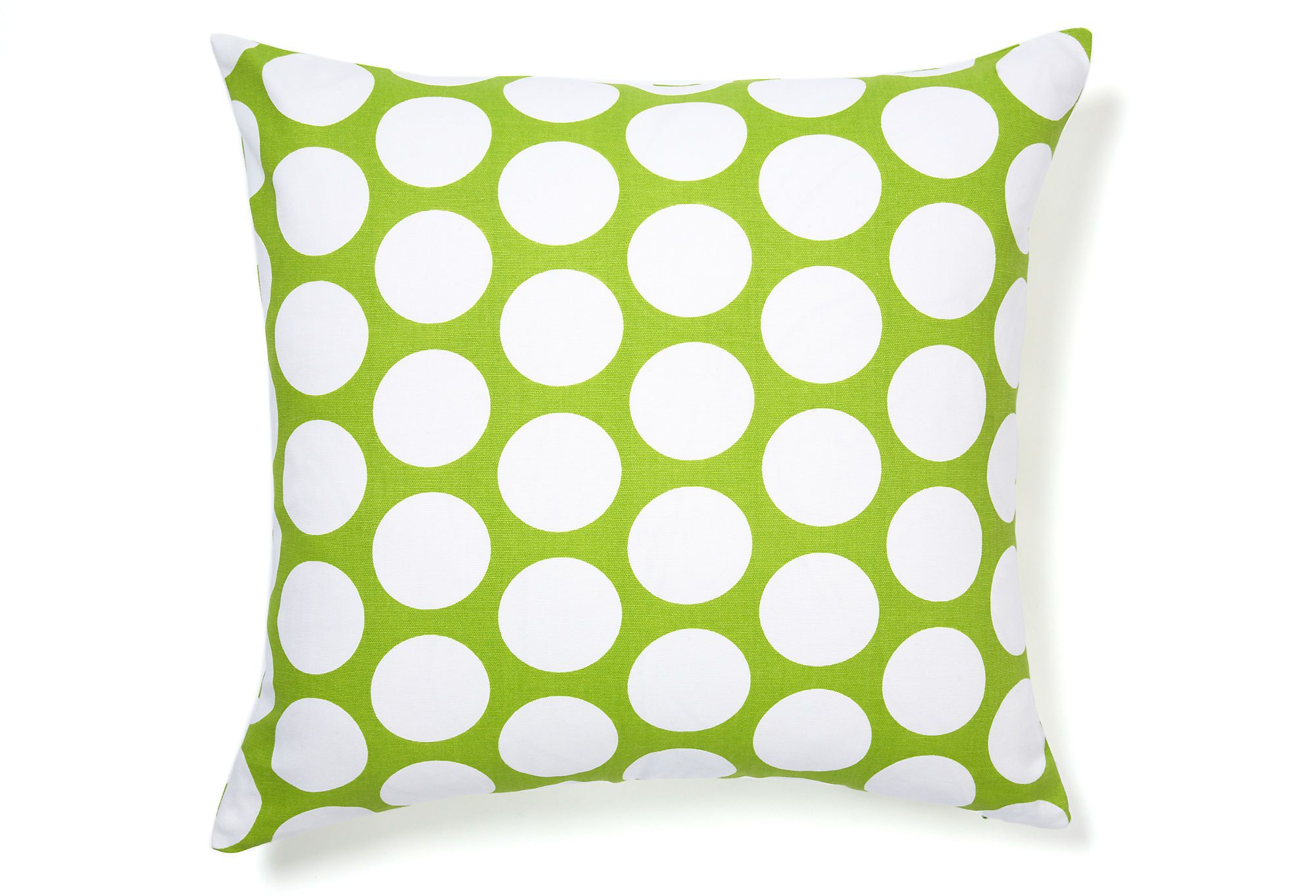 Spotlight On Polka Dots Polka Pillow Lime Jiti 39 00 Green Pillow Covers Green Pillows Pillows