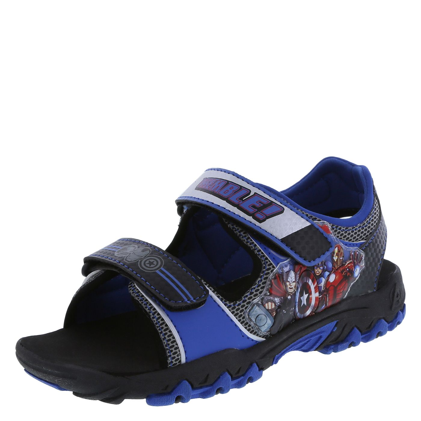 0aba07135dad Light up his world with The Avengers sports sandal!