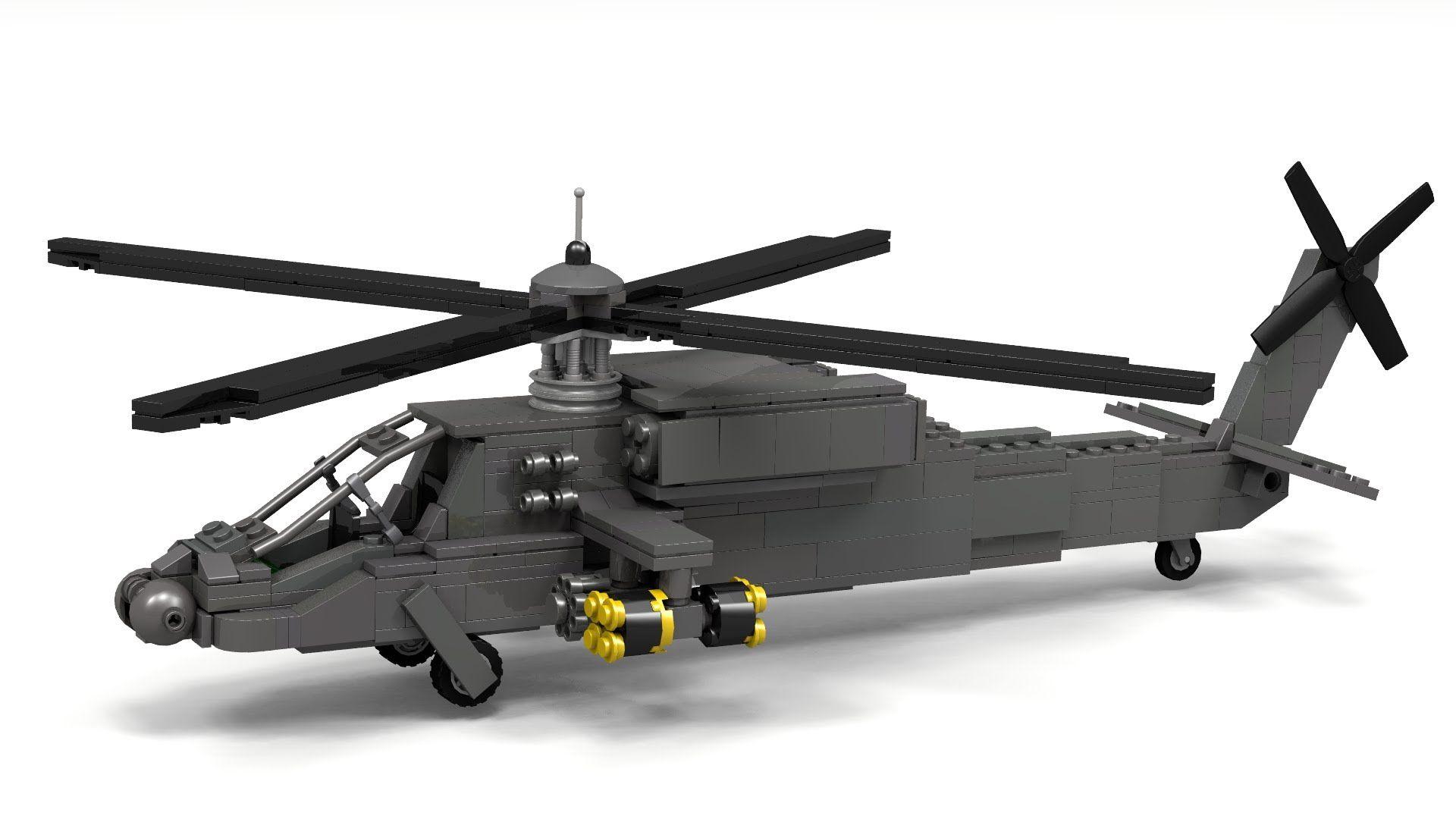 Lego AH-64 Apache Instructions | LEGO | Pinterest | Lego