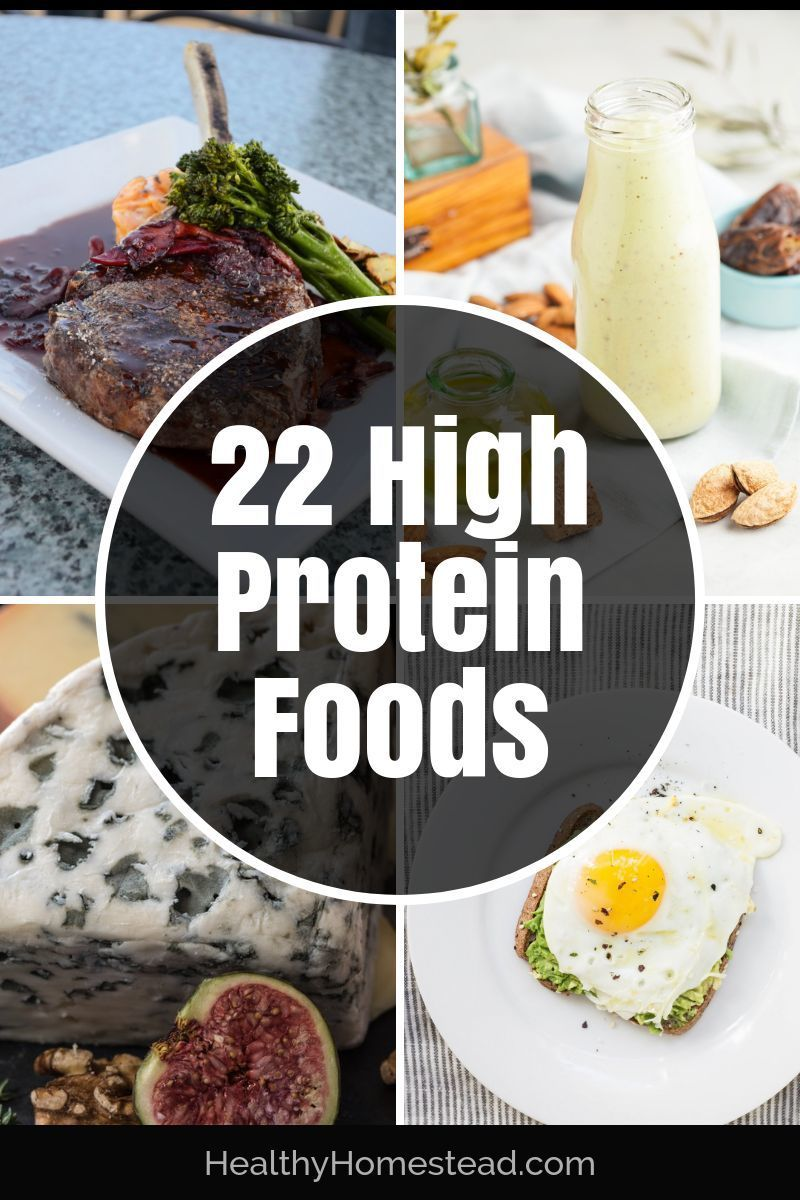 22 High Protein Foods The Ultimate List for Muscle
