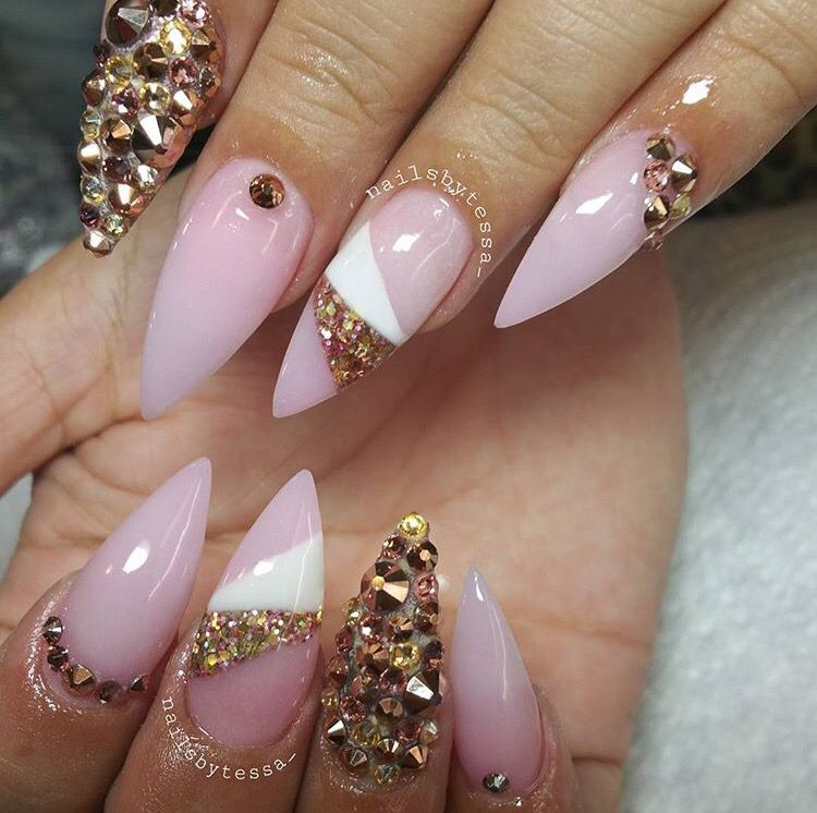 I love this nail design | Nails | Pinterest | Nail nail, Nails ...