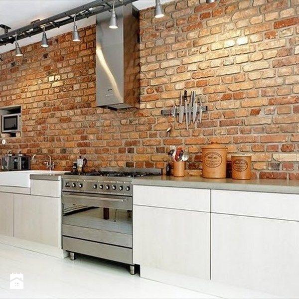 Brick Wall Kitchen, Exposed Brick Kitchen, Brick Interior