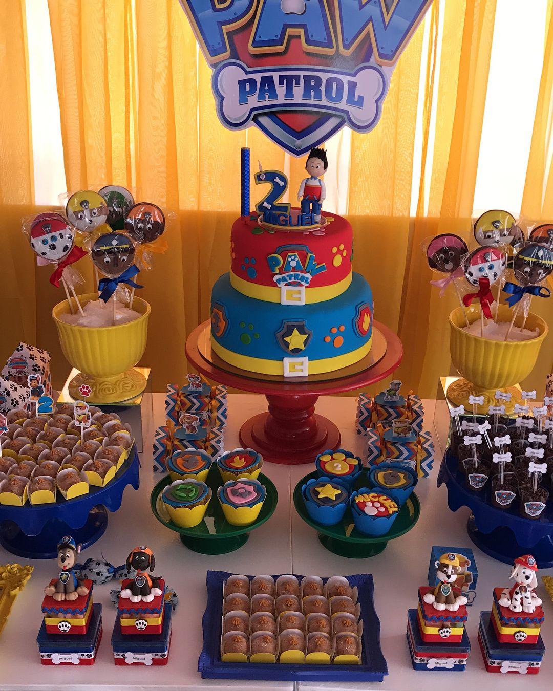 Ainda Sobre Minha Festa Pawpatrol Patrulhacanina Artsc Com