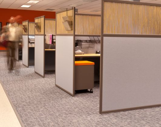 Custom Office Cubicles Designed To Fit Your Office Setting Needs Cubicle Design Office Cubicle Design Office Interior Design