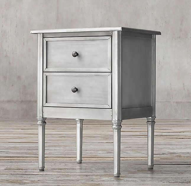 Best Spencer Metal 20 Closed Nightstand With Images 400 x 300