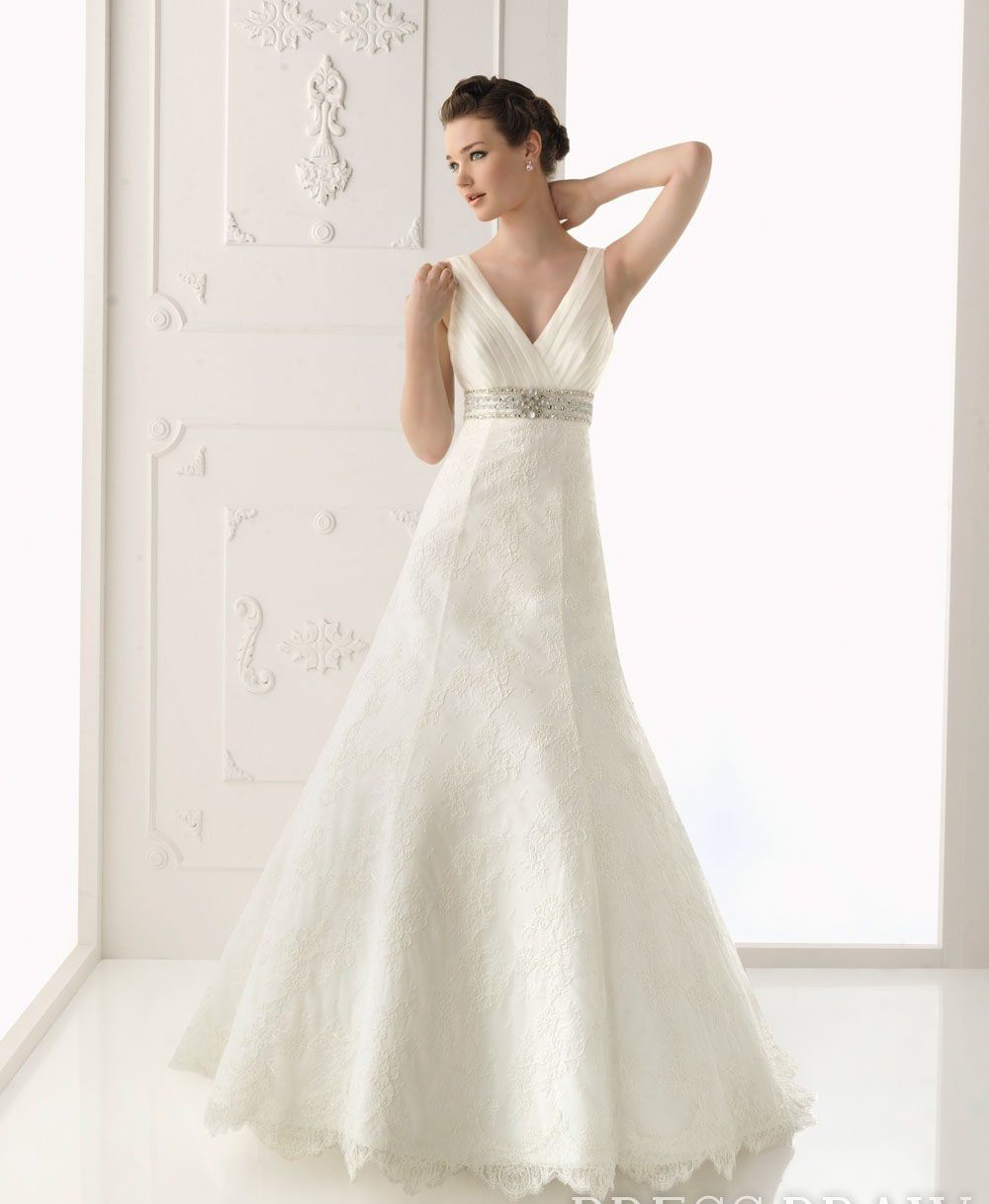 Vneck wedding dresses bridal dresses wedding pinterest
