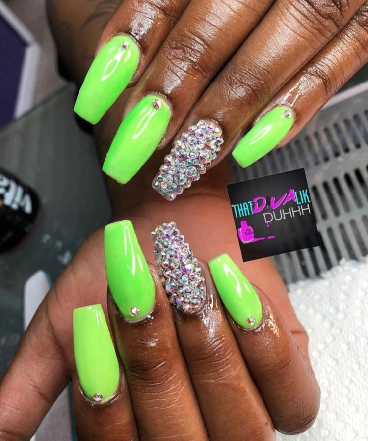 Follow Prettygurlfeed For More With Images Green Nail