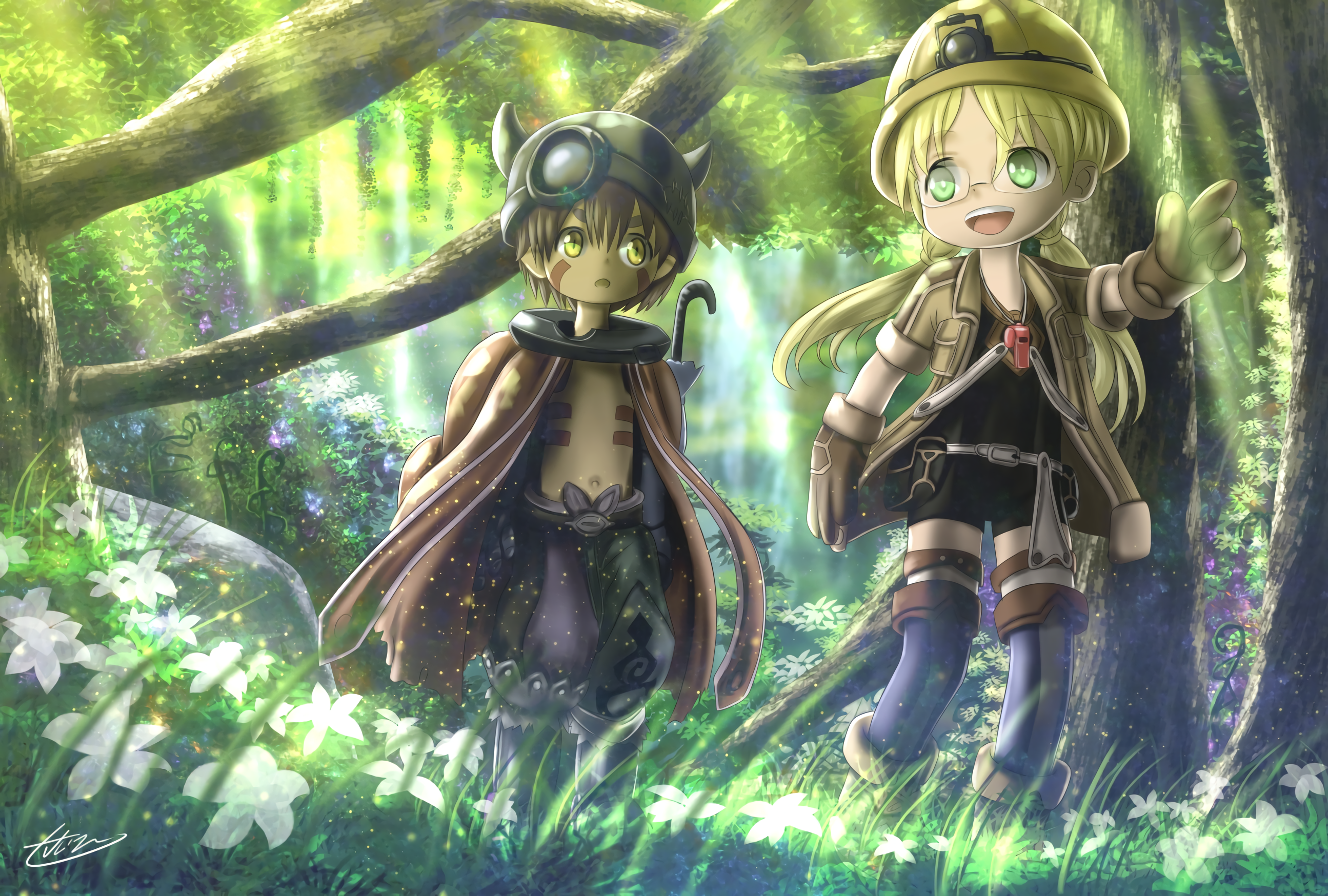 Made in Abyss OP Single Deep in Abyss Dessin animé