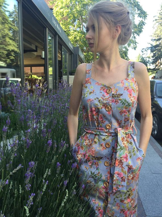 What fabric are summer dresses made of