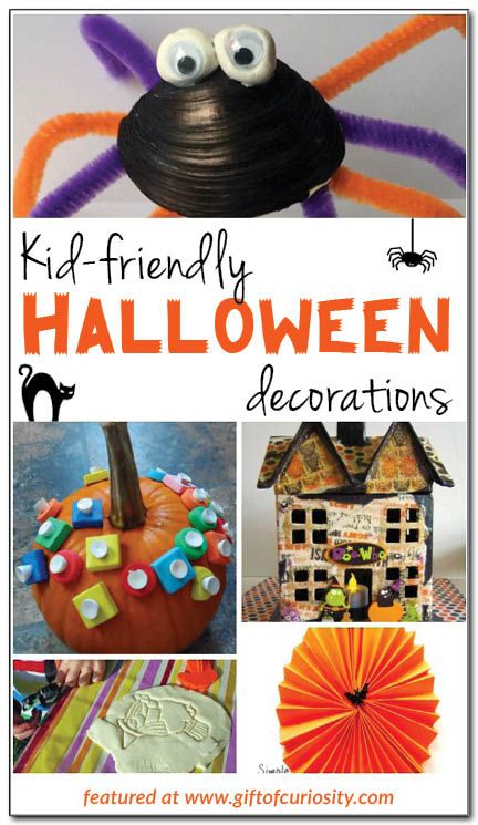 Kid-friendly Halloween decorations Holiday Halloween Pinterest - preschool halloween decorations
