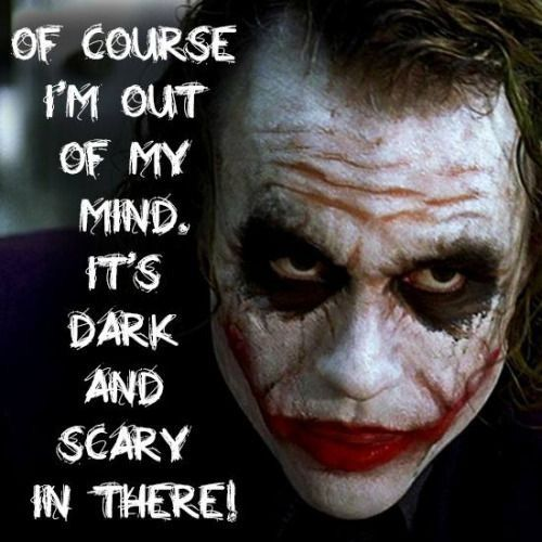 Yeah Ik It Is Villain Quote Joker Quotes Quality Quotes