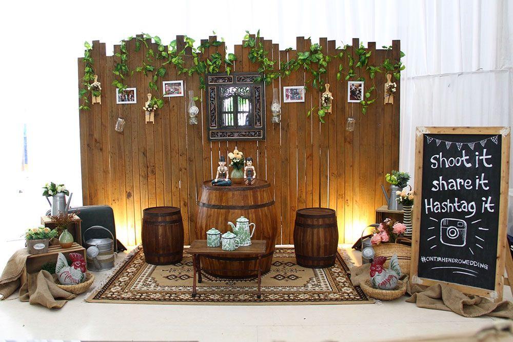 Dekor Photobooth Pernikahan Ide Ide Kerajinan