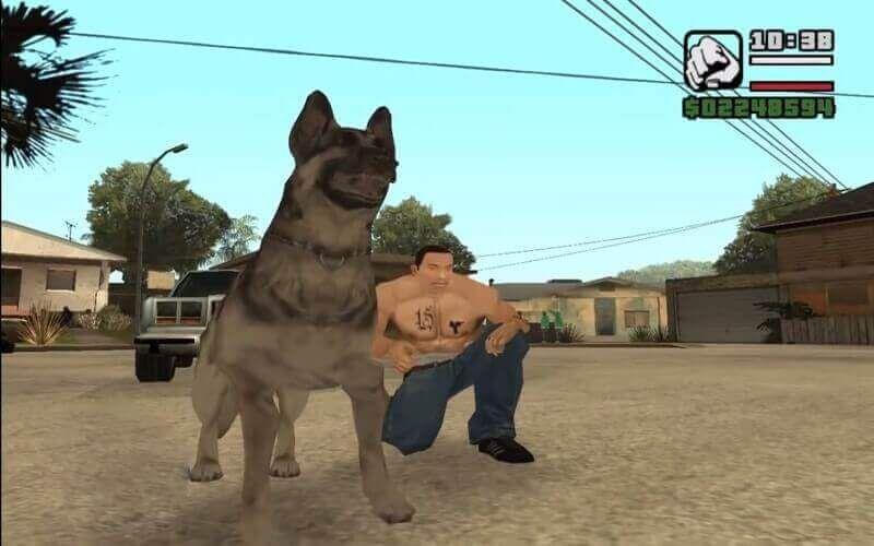 كود Gta San Andreas الكلاب لاجهزة الكمبيوتر والاندرويد War Of The Worlds San Andreas War