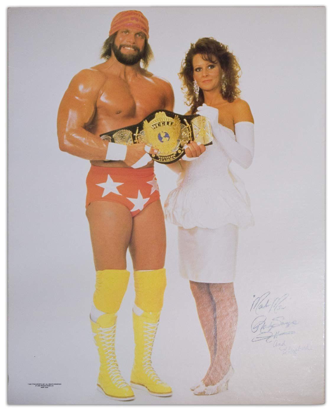 """""""Macho Man"""" Randy Savage (R.I.P.) & Miss Elizabeth (R.I.P"""