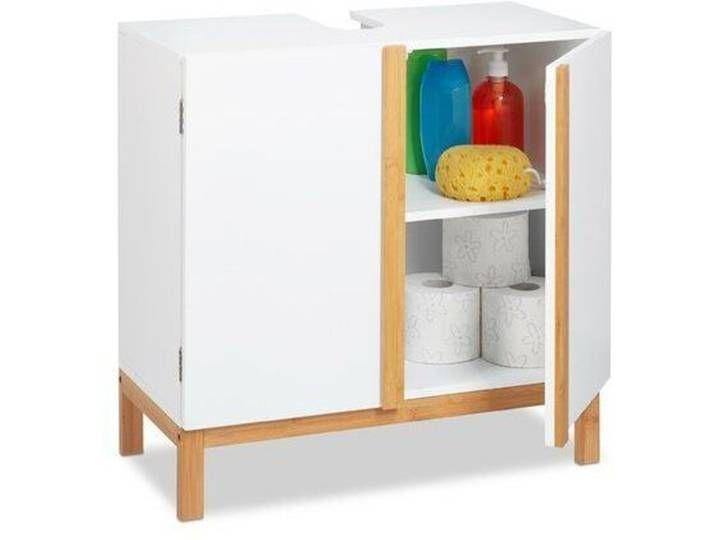 60 Cm Freistehender Waschbeckenunterschrank Rosenbloom Bathroom