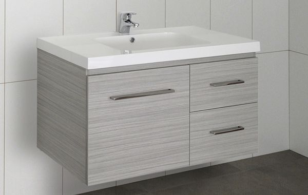 nobby design bathroom vanity units perth. Benchtop Laminex Impressions Fresh Snow Spark finish and base cupboard  doors panels Bleached Wenge Riven Styling We
