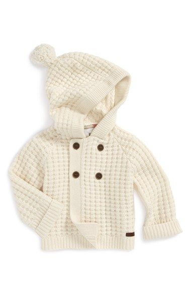 5ed64cc57c Burberry 'Joss' Hooded Cashmere Sweater (Baby Girls) available at #Nordstrom