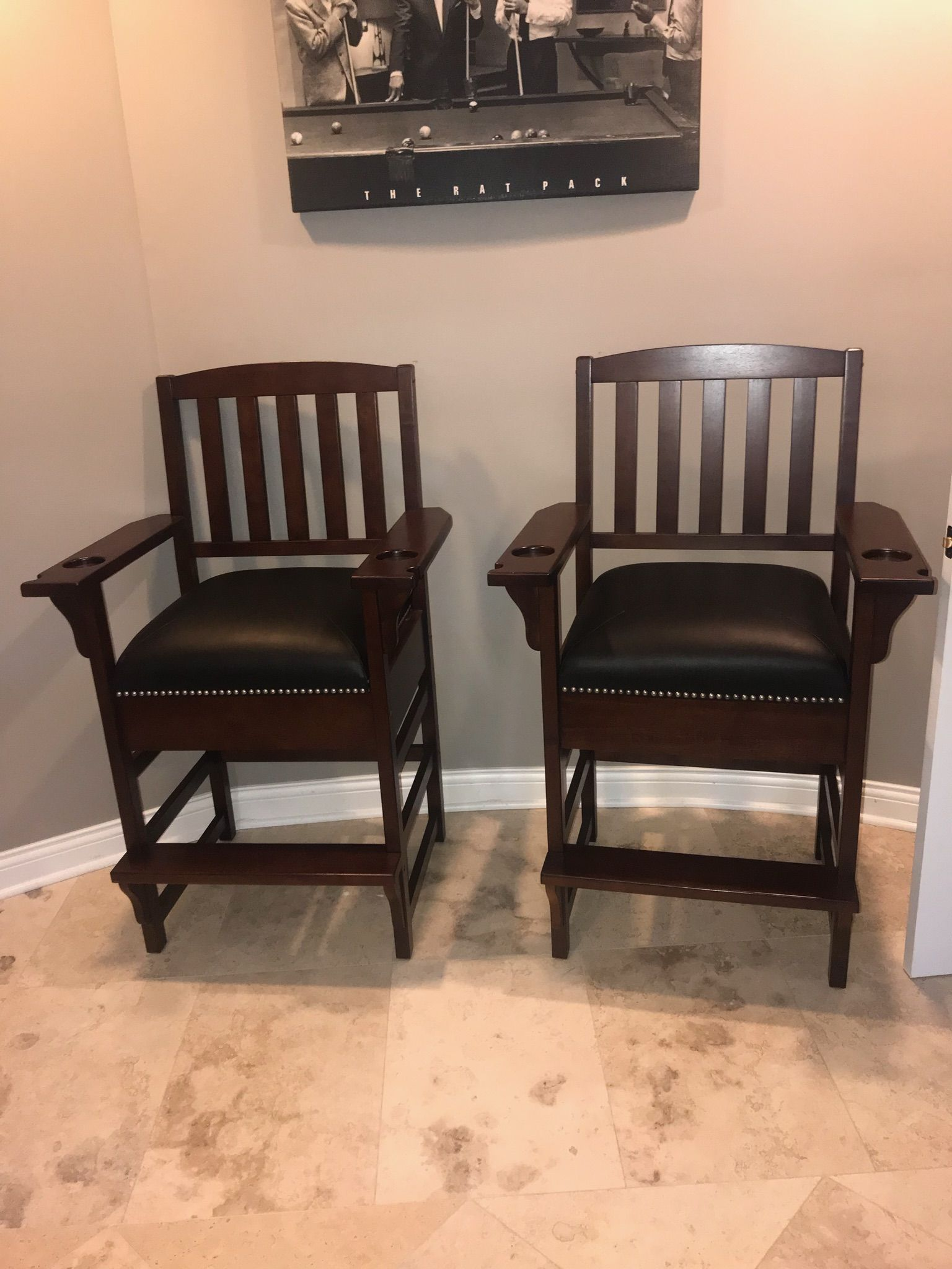 King Spectator Billiards Chairs
