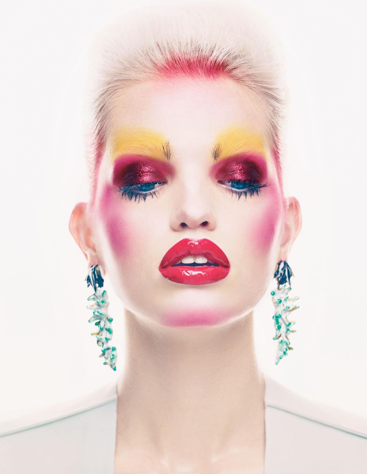 daphne groeneveld Fashion editorial makeup, Editorial