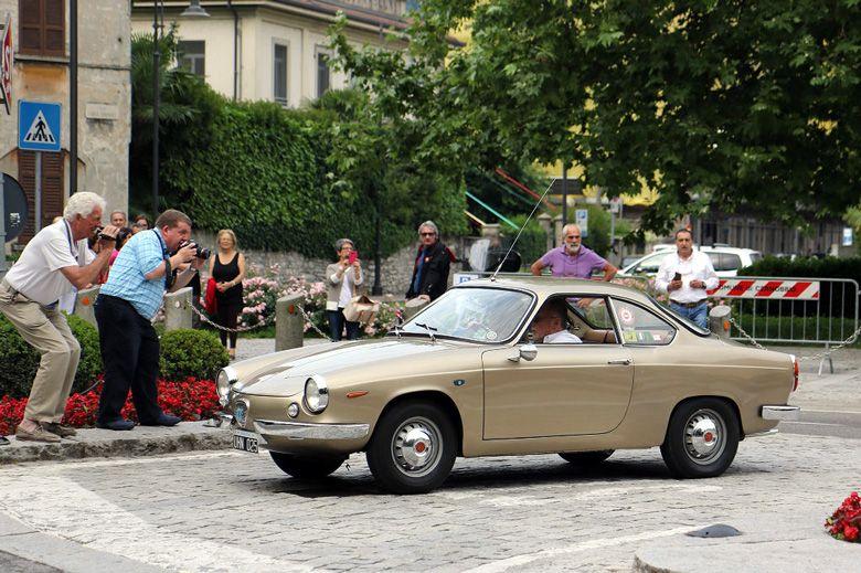 Concorso d'Eleganza Villa d'Este 2017 -  1961 Cisitalia Abarth coupé Scorpione by Allemano.