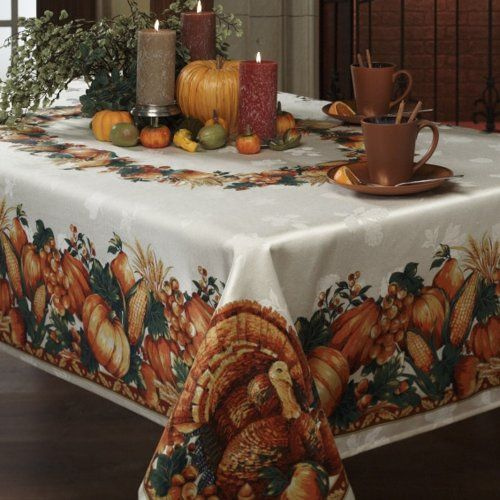 Great Fall Tablecloths To Take You All The Way Through Thanksgiving | Home  Sweet Decor