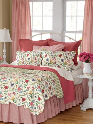 Butterfly And Floral Garden Bedding Collection   Country Curtains® Pretty  Keen On This Set.