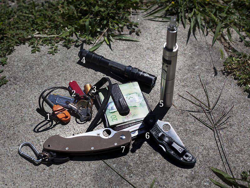 July 2013 EDC Pocket Dump | More Than Just Surviving | Survival Blog | Preppers & Survivalists | Gear & Knives