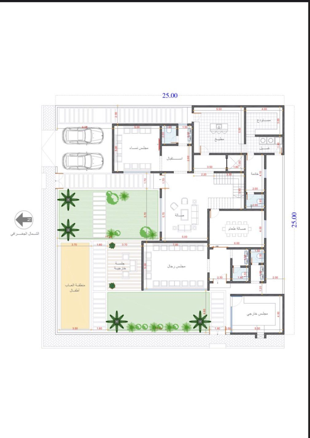 مخططات فلل On Twitter My House Plans Unique House Plans Family House Plans