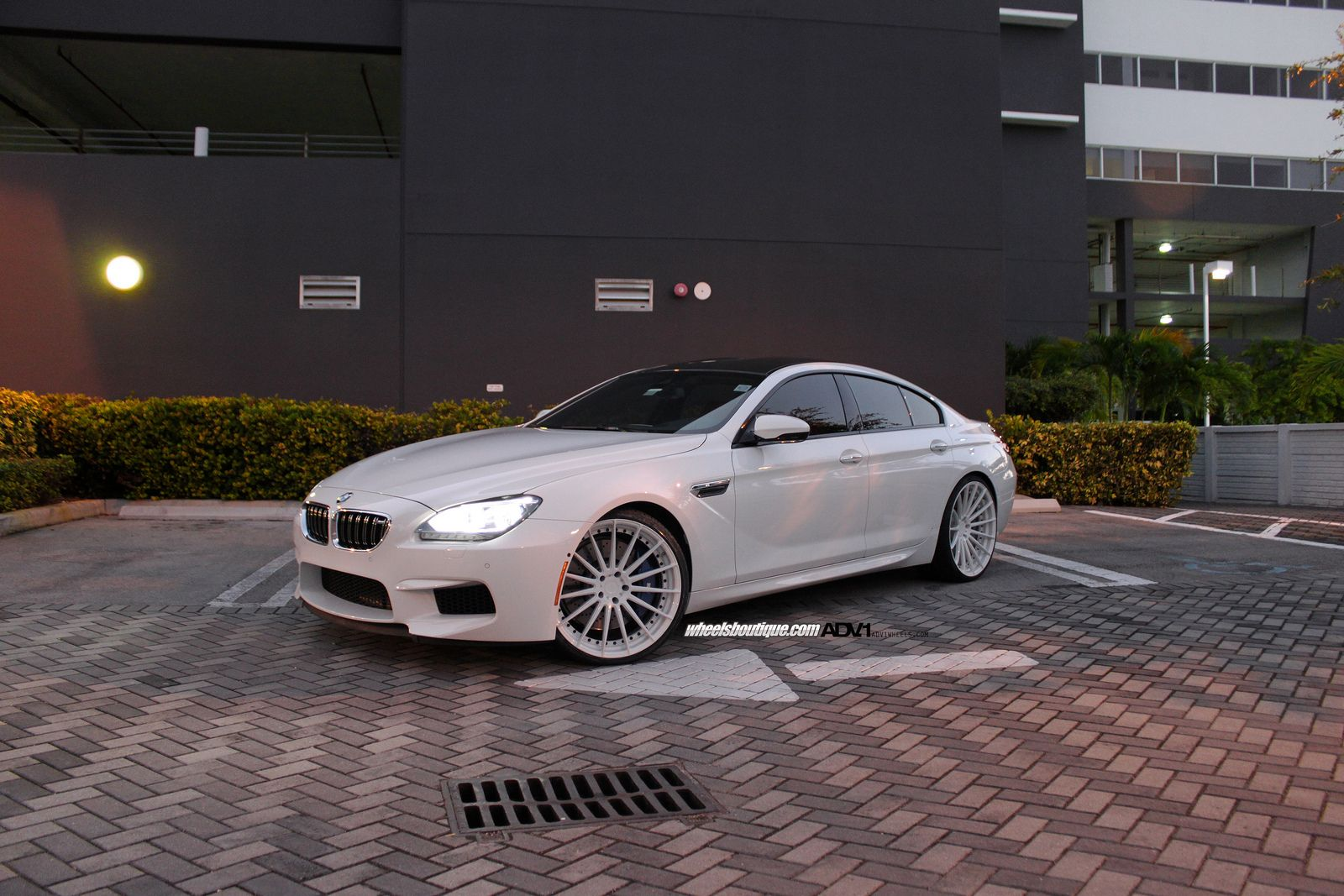 tuning bmw m6 gran coupe on adv15 mv2 wheels 01 tuning. Black Bedroom Furniture Sets. Home Design Ideas
