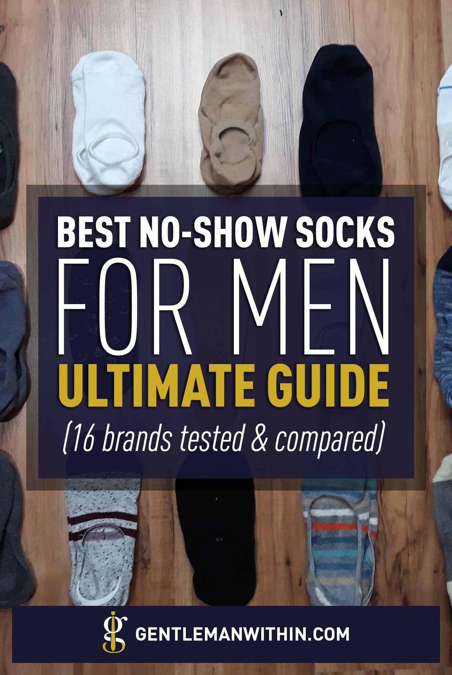 Best No Show Socks For Men: 16 Brands