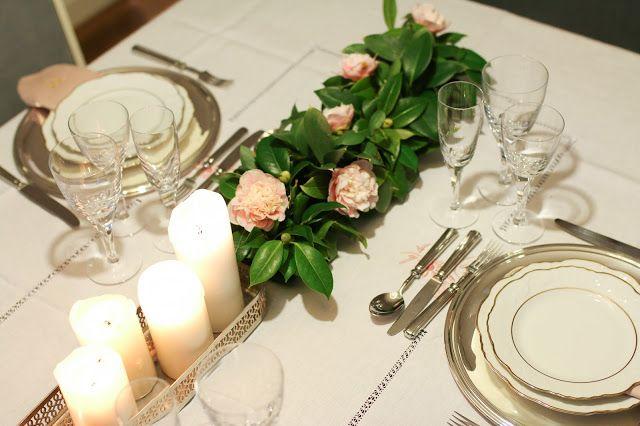 Perfect Home table setting NYE