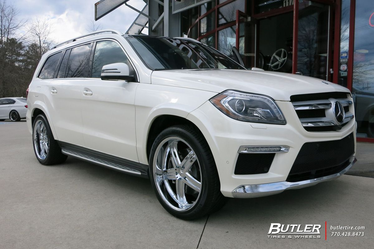 mercedes gl450 with 22in mandrus mannheim wheels butler tire suv 39 s pinterest mannheim. Black Bedroom Furniture Sets. Home Design Ideas