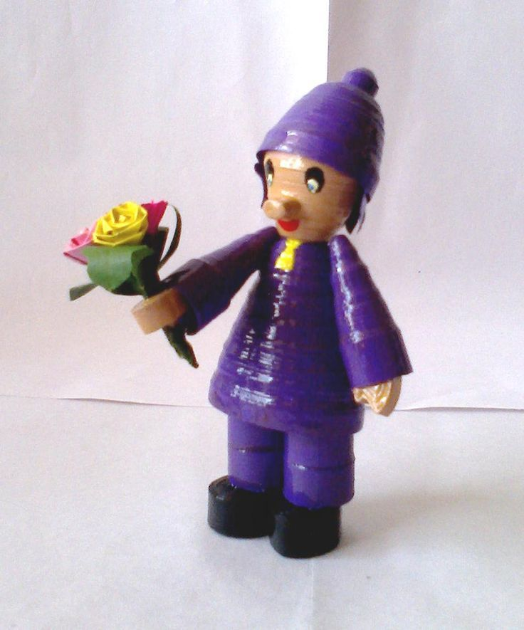 quilling-doll