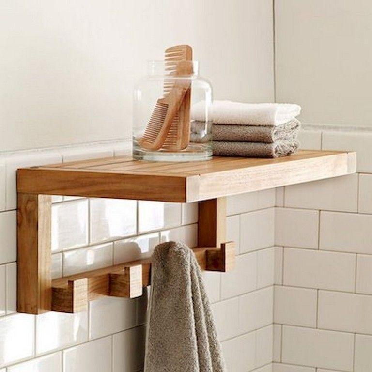 45 Diy Rustic Bathroom Levitating Shelves Ideas Bathroom Storage Shelves Shelves Small Bathroom Storage