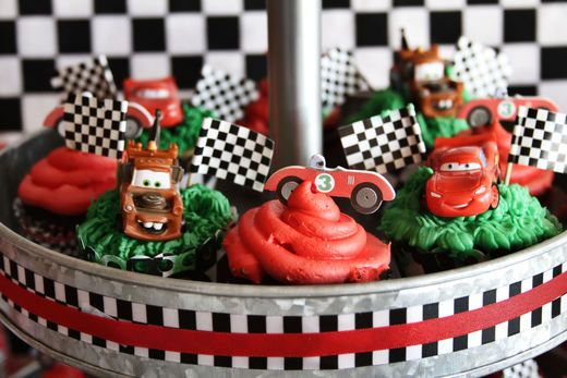 "Photo 10 of 73: Cars / Birthday ""Ethan's Lightning McQueen 3rd Birthday "" 