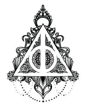 Harry Potter Awesome Tattoos Tatuaże Insygnia śmierci