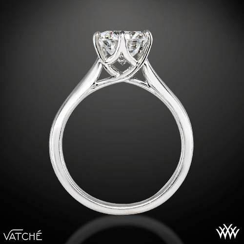 38e1c3b9980e0a Diamond Ring Side Viewring Side View Of Vatche Royal Crown Solitaire  Engagement Ring Dowsms