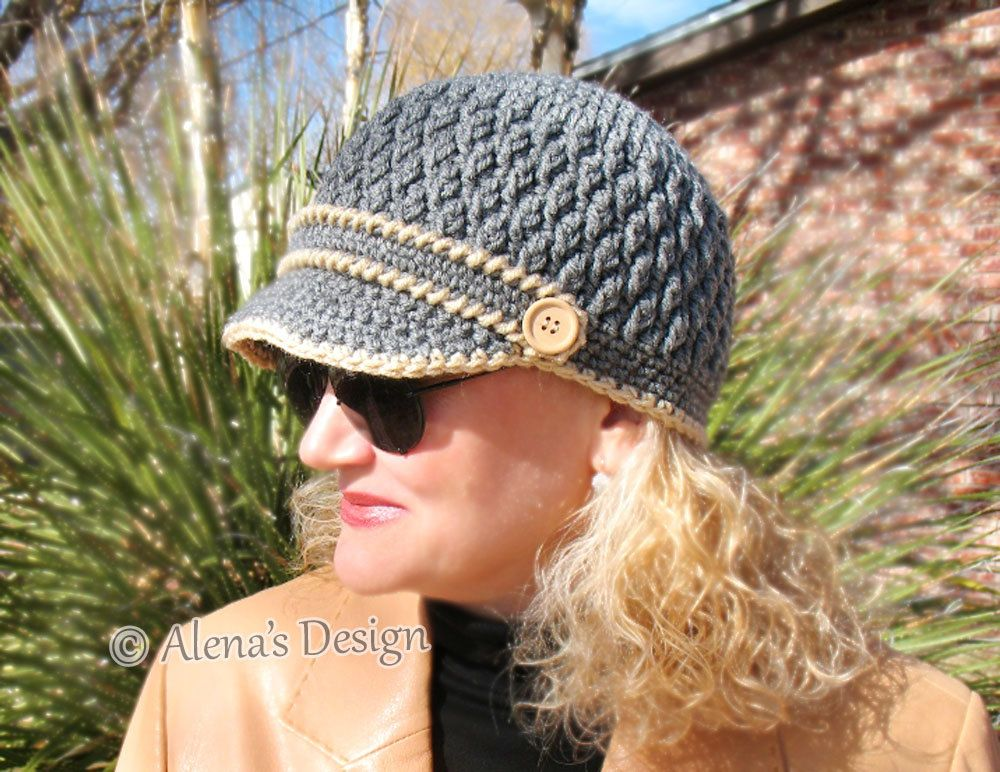 Crochet Pattern 093 Crochet Hat Pattern Hat Crochet Pattern For