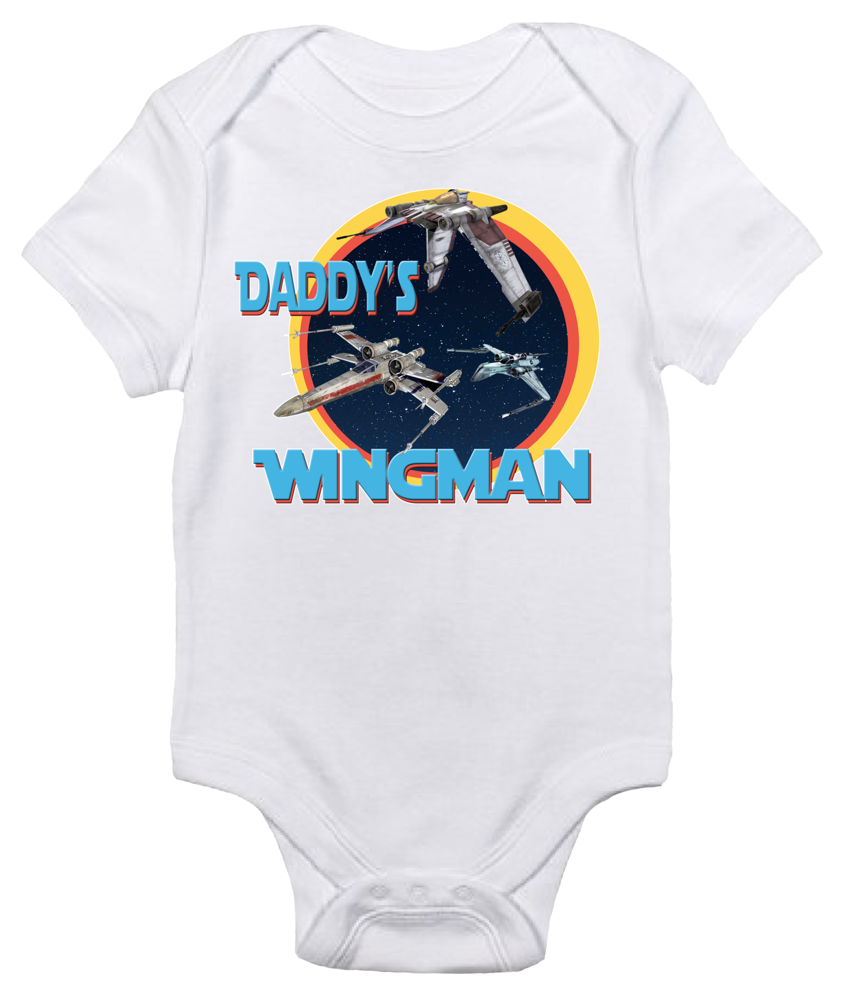 Baby Bodysuit Star Wars Daddy s Wingman