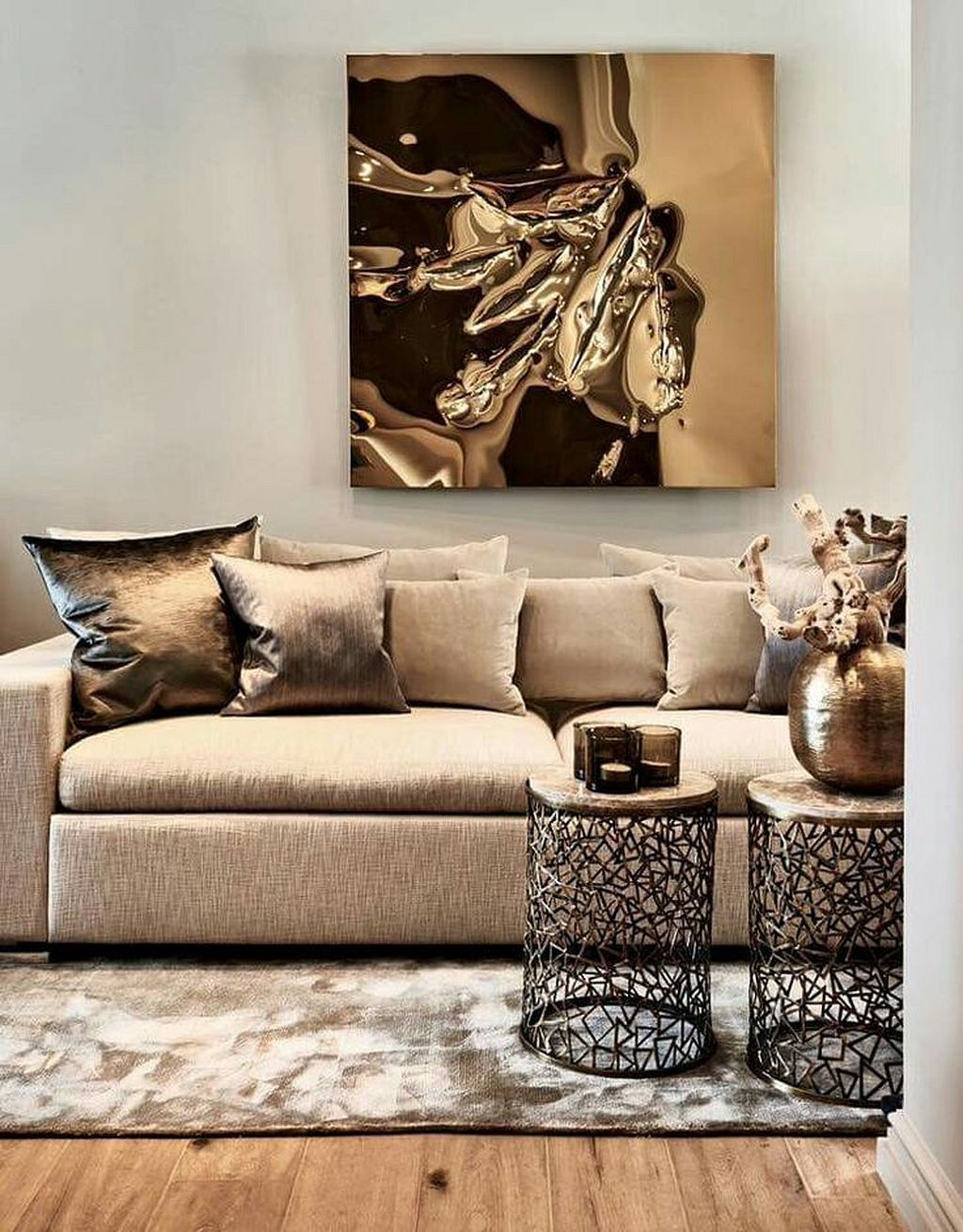 Stunning 30 What A Love Beige Color For Your Living Room Ideas Https Kidmagz Com 30 Beige Sofa Living Room Bronze Living Room Contemporary Decor Living Room Bronze living room decor