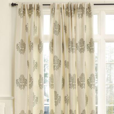 Bingham Printed Damask Panel | European Inspired Home Furnishings | Ballard  Designs