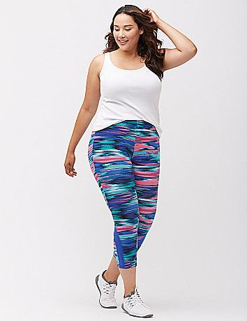 Lane Bryant Livi Active Signature Stretch Capri Legging Plus Size Fashion Plus Size Yoga Plus Size