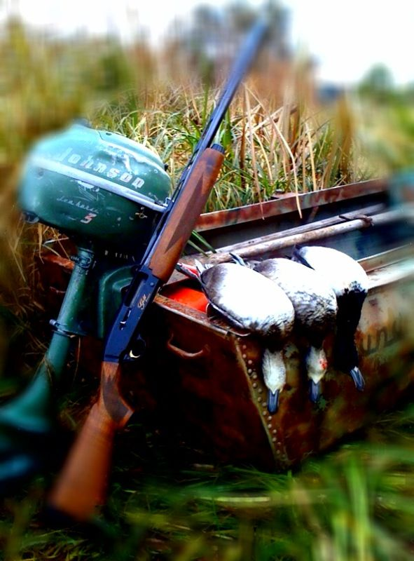 Duck Hunting with the Vintage Lund Duck Boat and 1954 ...