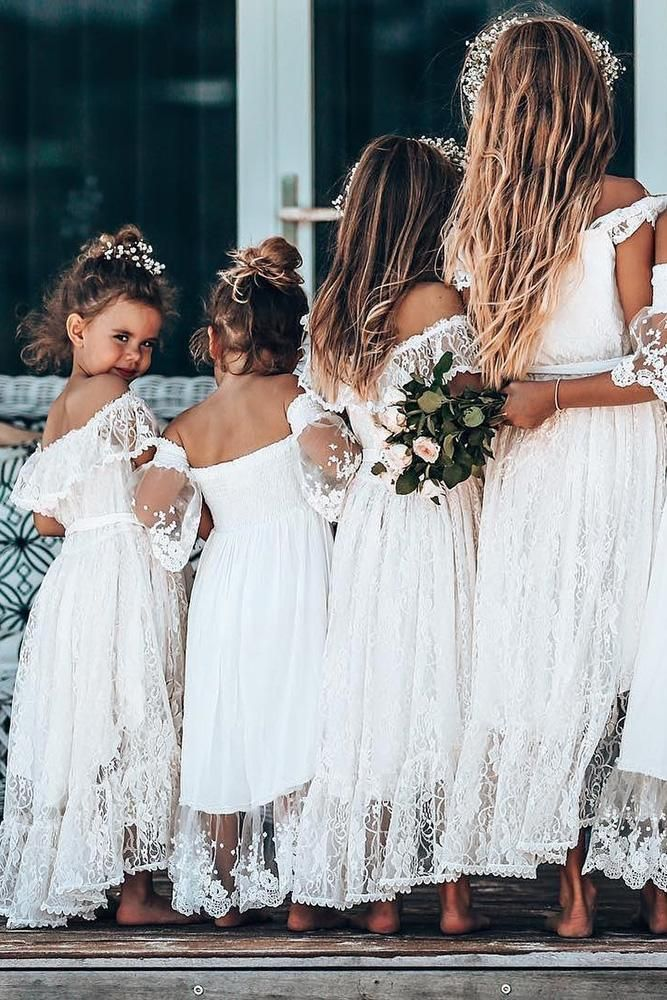 Must Have 2019: 24 Lace Flower Girl Dresses Must Have 2019: 24 Lace Flower Girl Dresses Bridesmaid Dresses boho bridesmaid dresses